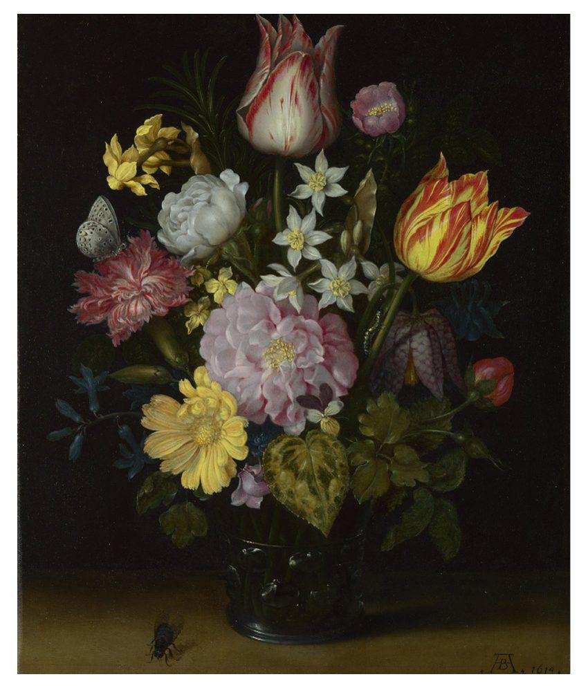 Vitalwalls Multicolour Still Life Paintings