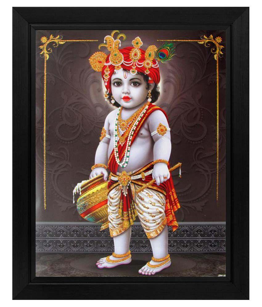Avercart Textured Lord Krishna/Baby Krishna/Bal Gopal