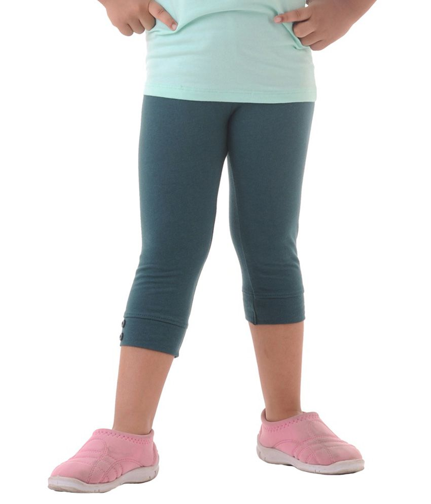 Metro Collections Turquoise Capris