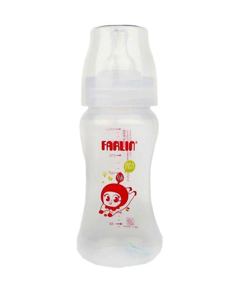 Farlin Transparent  Feeding Bottle