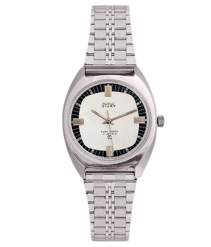 HMT Silver Analog Casual Watch