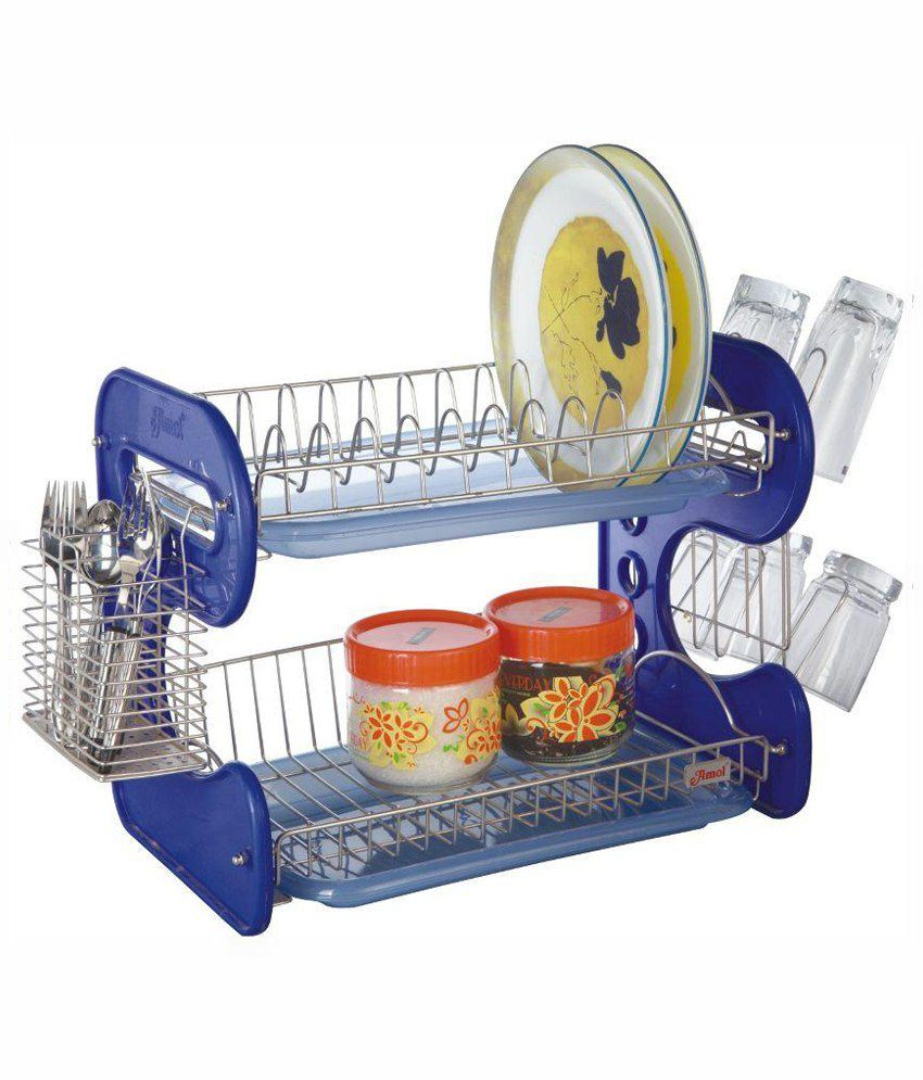Amol Stainless Steel Utensils Rack