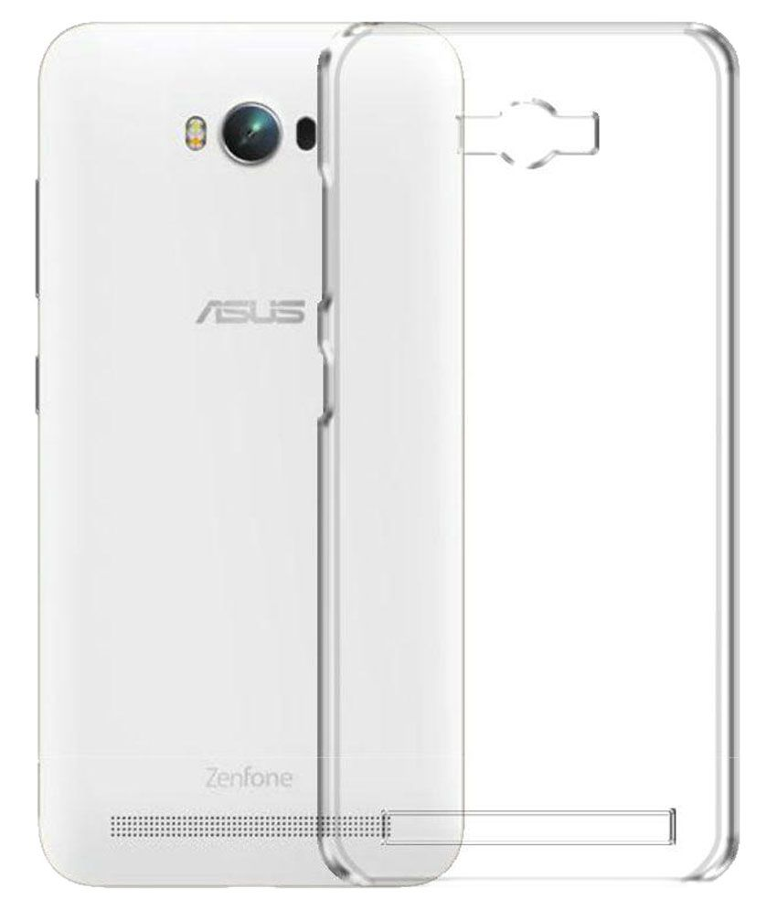 finest selection 1b3c1 57f7e Deltakart Back Cover for Asus Zenfone Max - Transparent