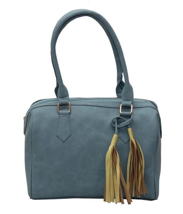 Glitter Glory Blue Shoulder Bag