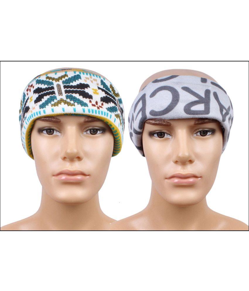 Sushito Multicolour Woollen Ear Warmer Set of 2