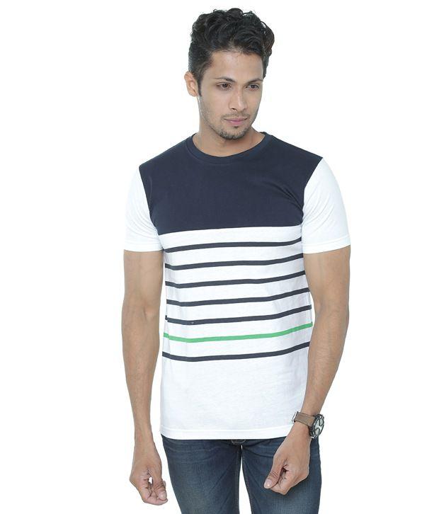 Wexford White Round T Shirts