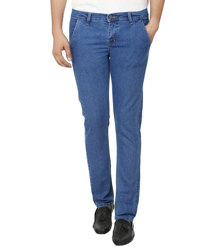 Ben Carter Blue Slim Fit Jeans