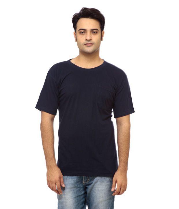 DS Navy Round T Shirts