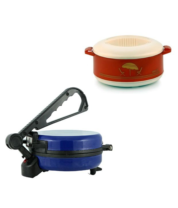 GTC Combo Of Blue Roti Maker With Casserole