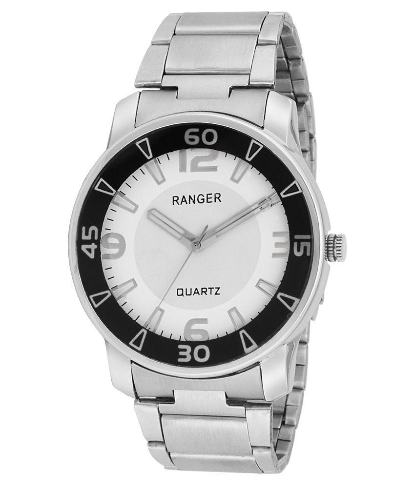 241a08457e4 Indostar Silver Wrist Watch For Men - Buy Indostar Silver Wrist Watch For Men  Online at Best Prices in India on Snapdeal