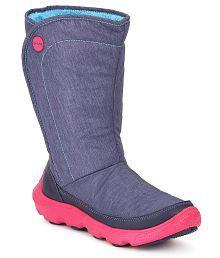Crocs Blue Boots Roomy Fit
