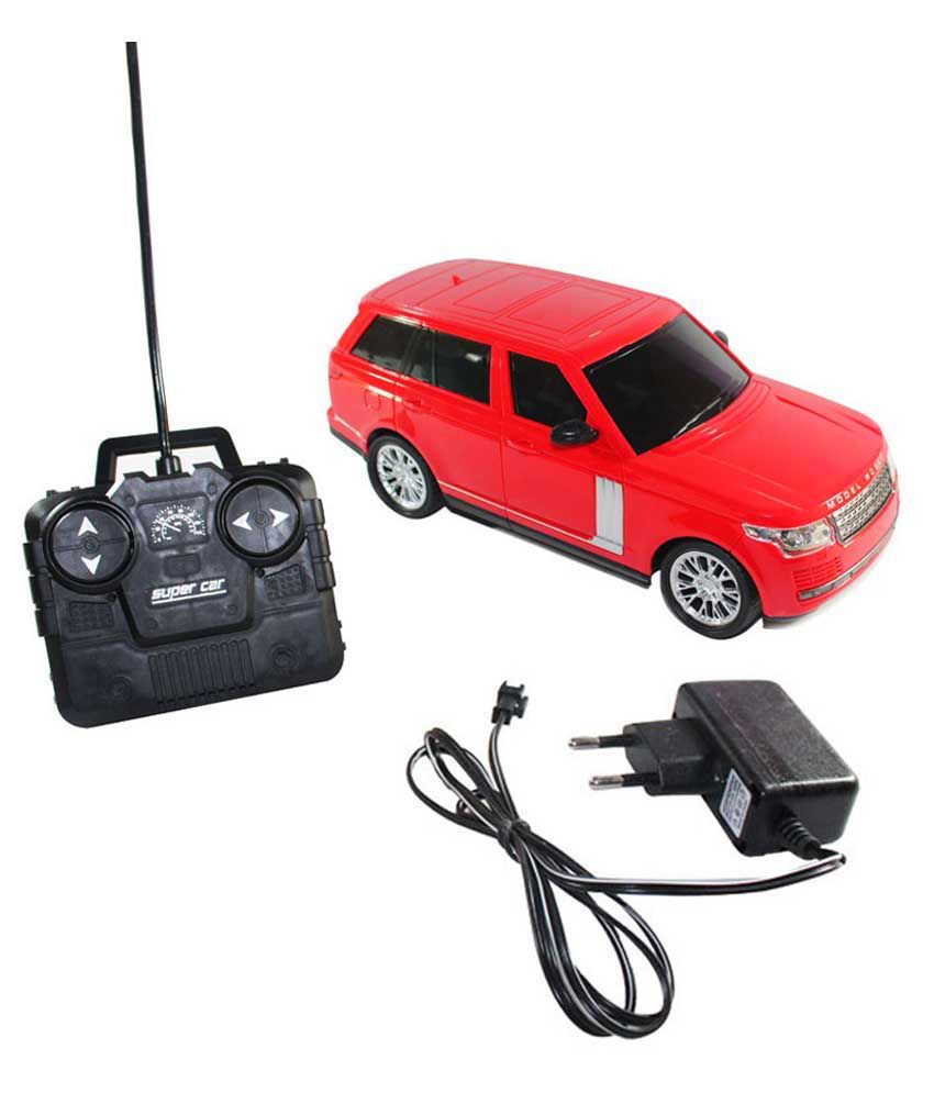 Fantasy India Fantasy India Red Rechargeable Remote Control Toy Car