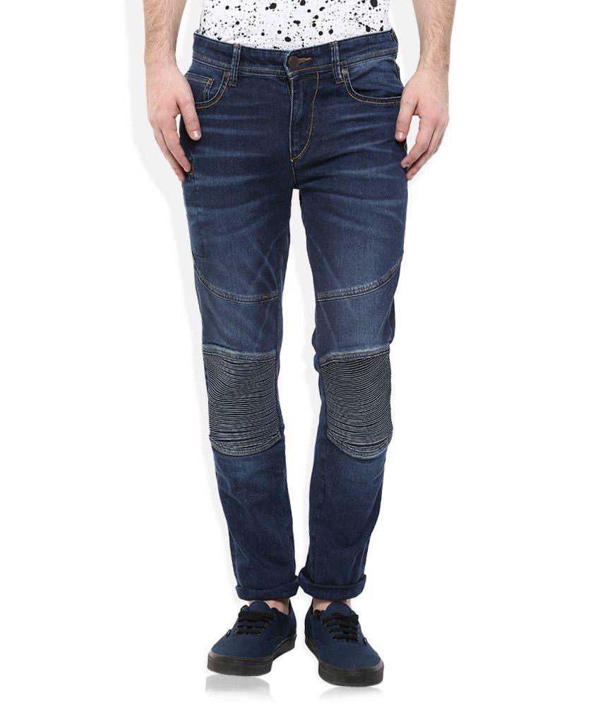 Route 66 Blue Slim Fit Jeans