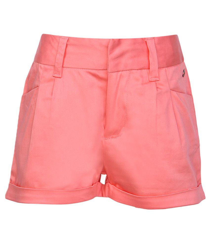 FS MiniKlub Pink Cotton Shorts