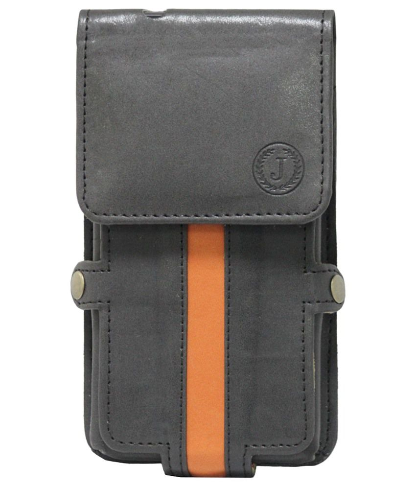 Jo Jo A6 Nillofer Series Holster Case for Micromax Canvas Juice 2 - Black
