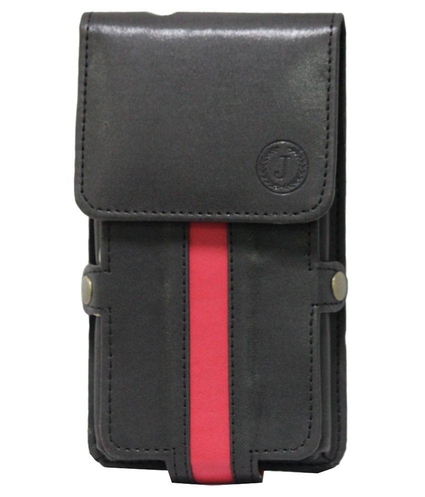 Jo Jo A6 Nillofer Series Holster Case for Gionee Marathon M5 Lite - Black
