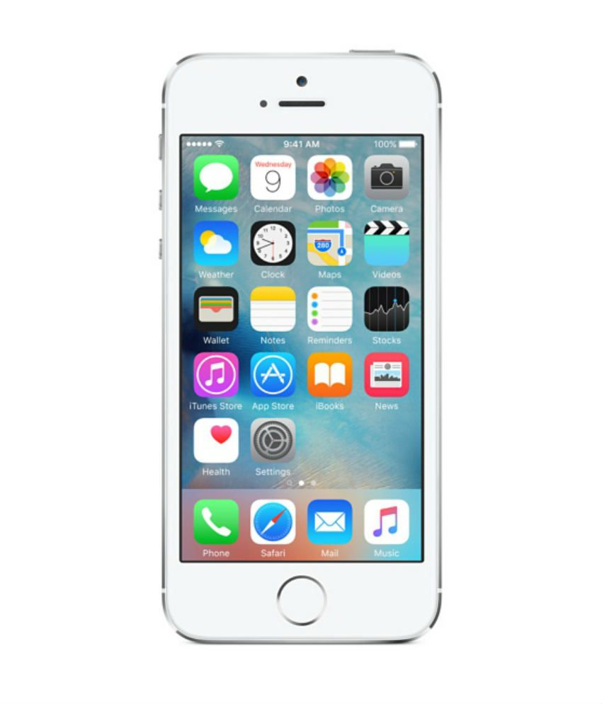 iPhone 5S (16GB, Silver)