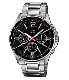 Casio Silver Analog Watch