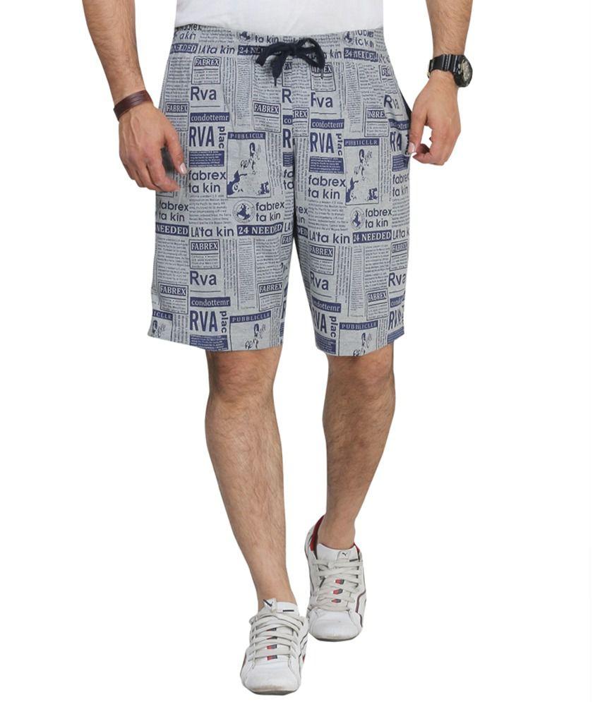 Broche Grey Shorts