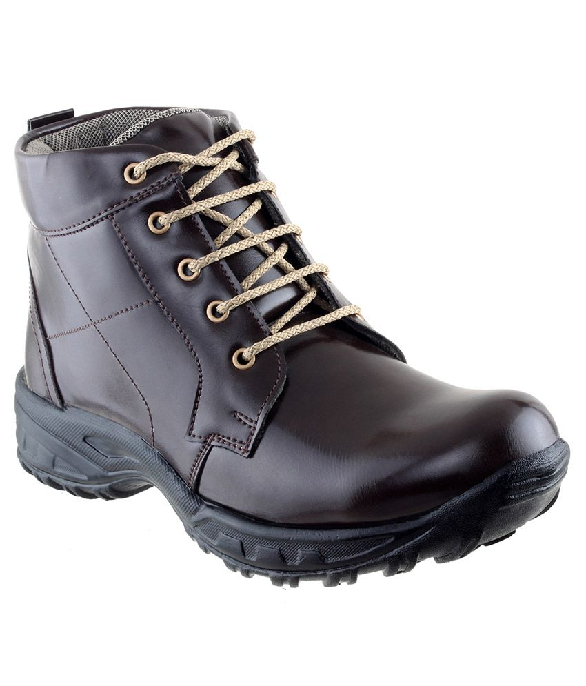 City Fashion Brown Boots