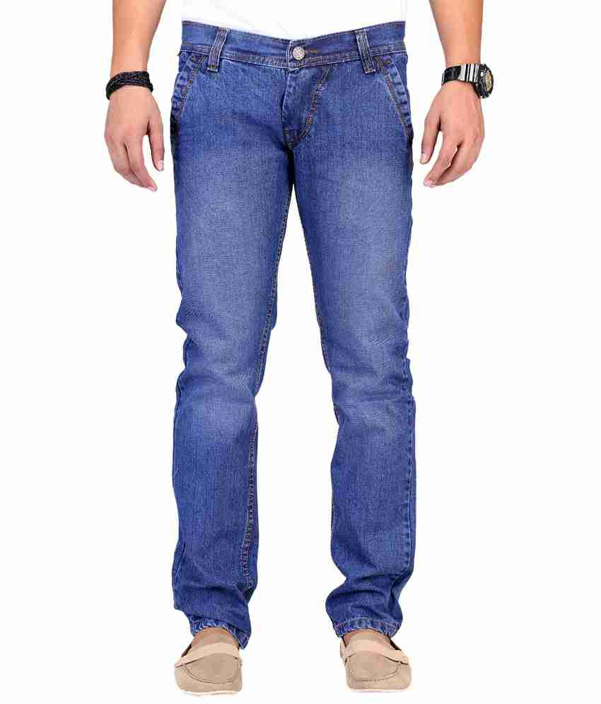 Ansh Fashion Wear Blue Relaxed Faded