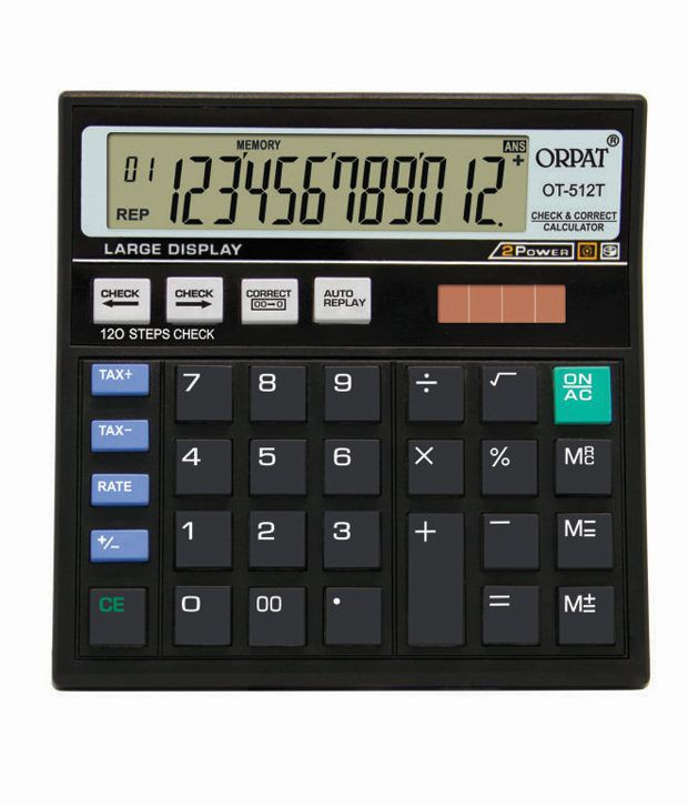 orpat ot 512t check correct calculator buy online at best price