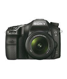 Sony Alpha A68M 24.2 MP Digital SLR Camera (Black) with 18-135 mm Lens (ILCA-68M)