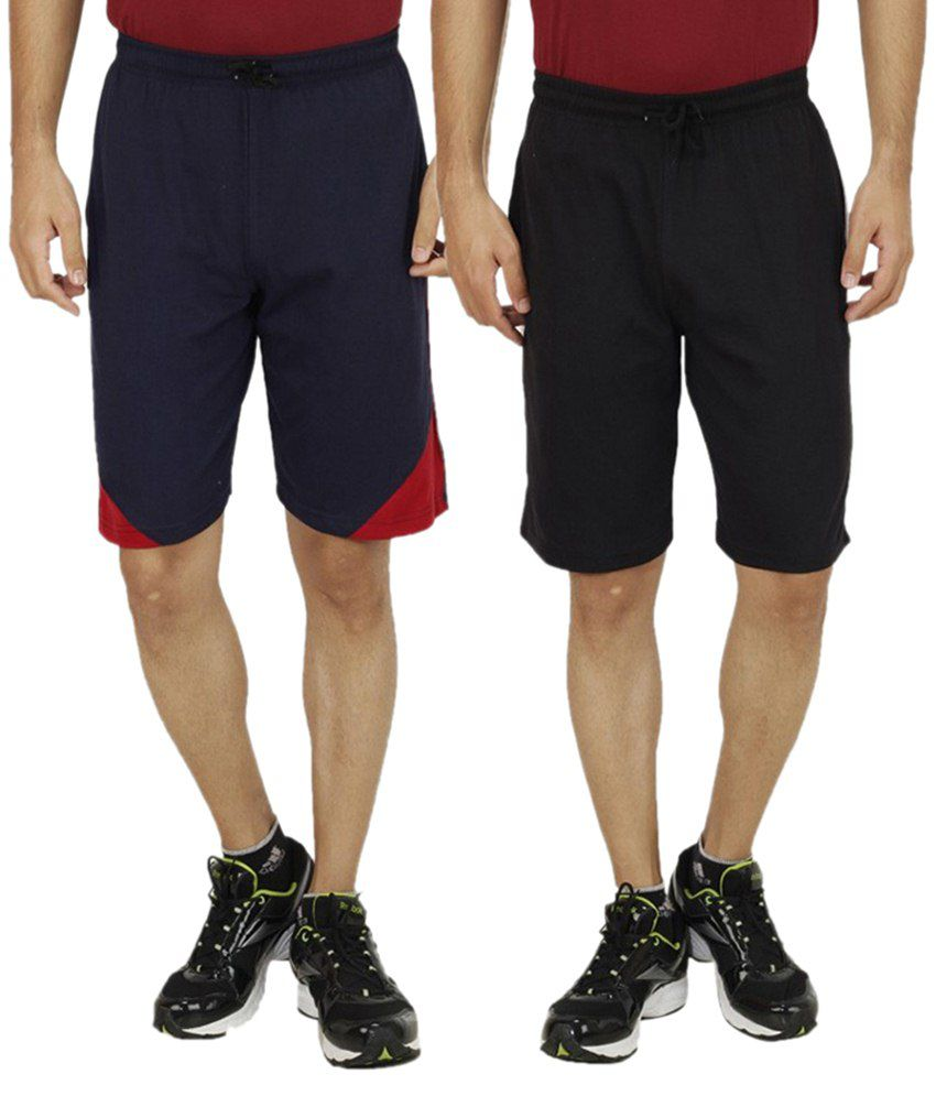 Christy's Collection Multi Shorts Pack Of 2