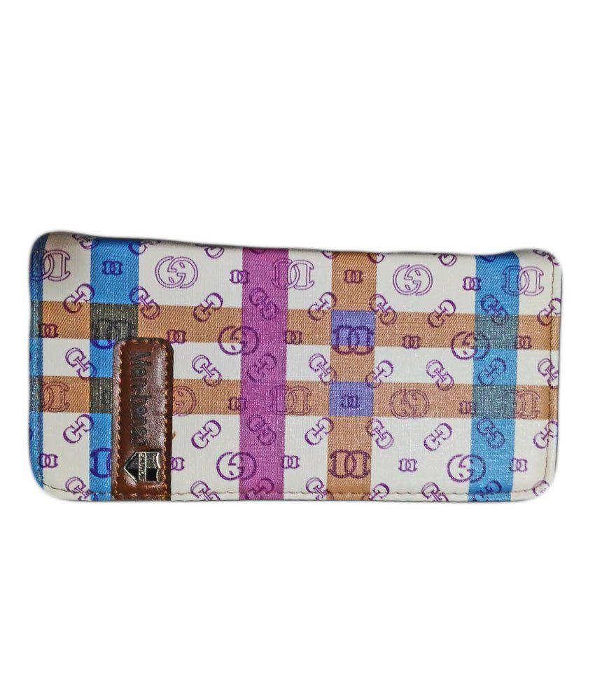 Colorhut Multicolour Leather Regular Wallet for Women