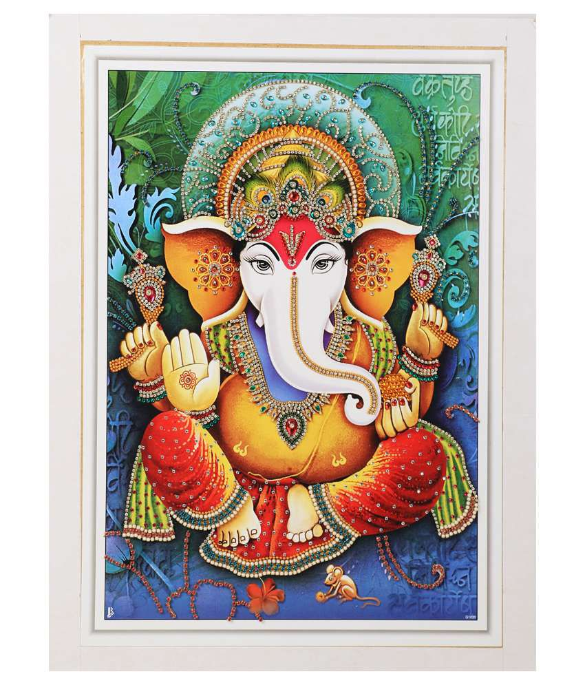 Agroha Consumer Products Religious Painting with Frame