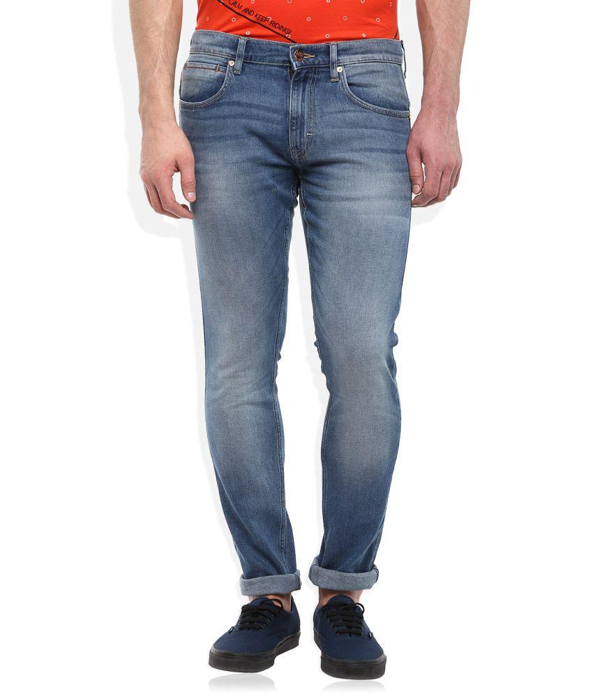 Lee Green Skinny Fit Jeans