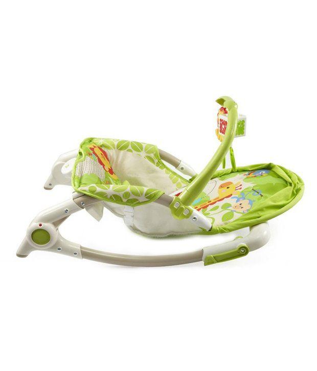 Fantasy India Newborn To Toddler Portable Rocker Baby