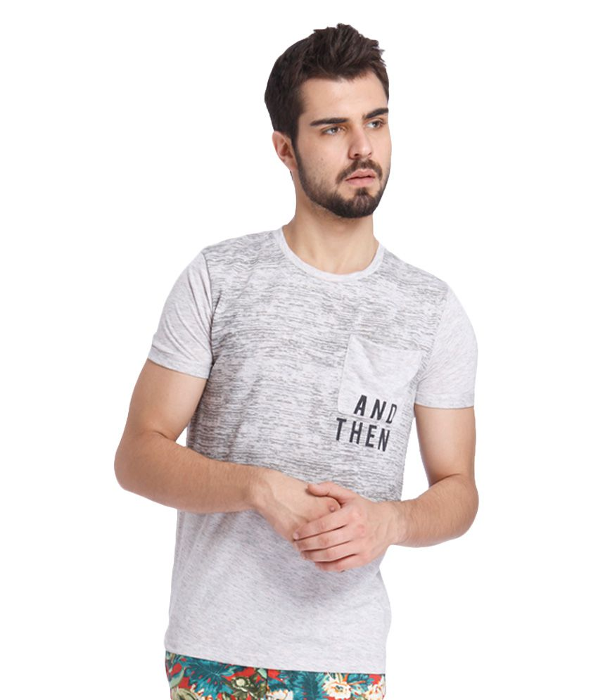 Jack & Jones Grey T-Shirt