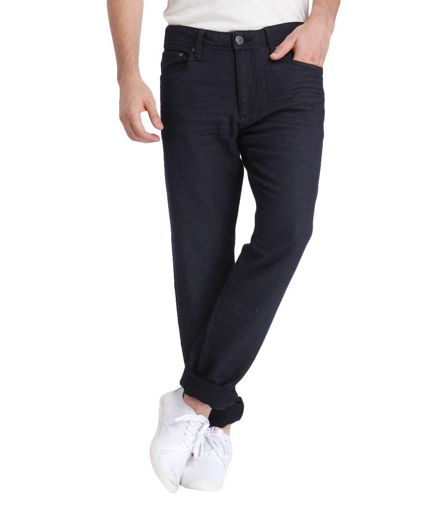 Jack & Jones Navy Slim Fit Jeans