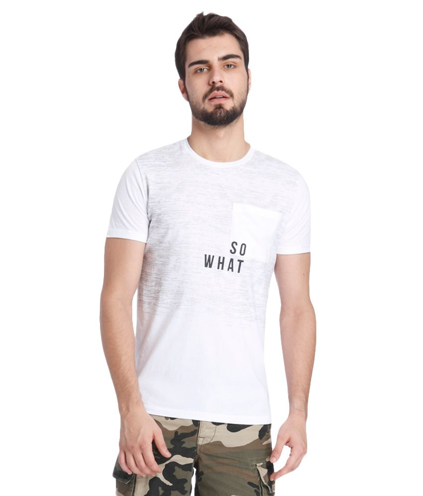Jack & Jones White T-Shirt