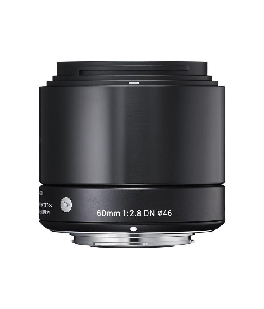 Sigma Black 60mm F/2.8 EX DN Micro Art Lens for Sony E-Mount