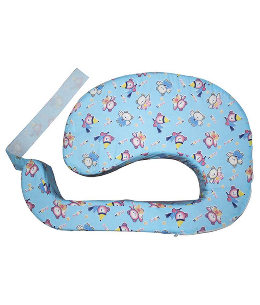 1c3f0c52707 Born Babies Blue Cotton Baby Feeding Pillow  Buy Born Babies Blue Cotton Baby  Feeding Pillow at Best Prices in India - Snapdeal