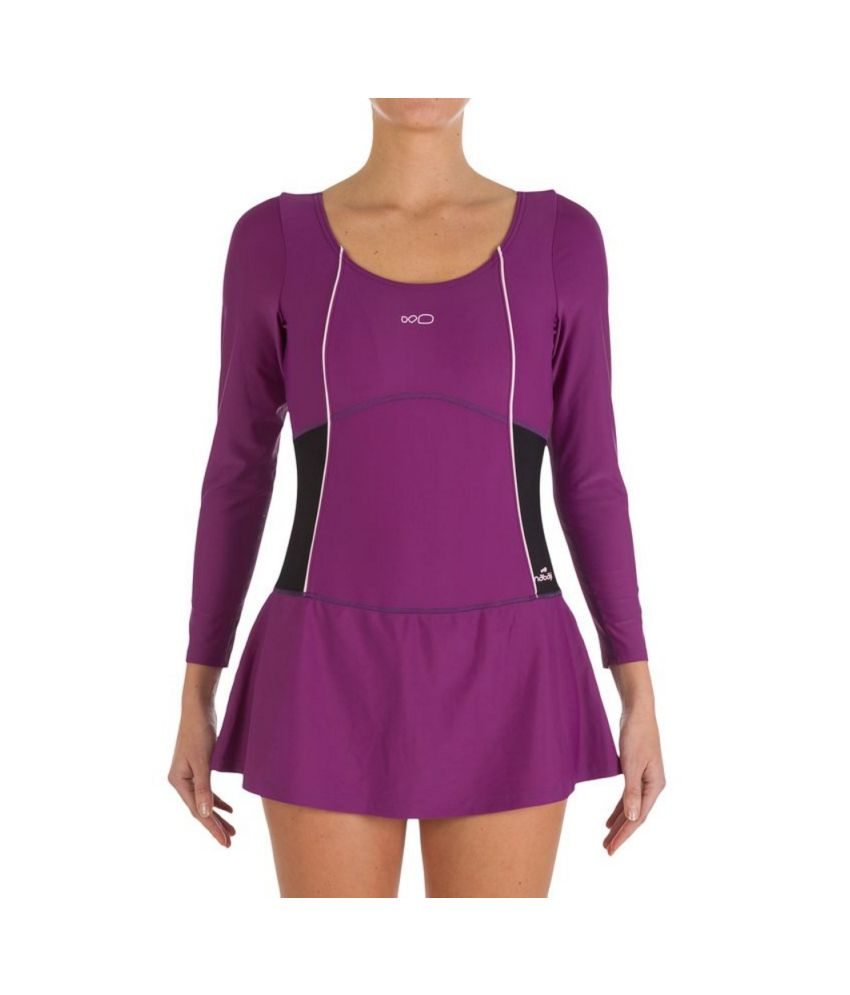 d789cf5e11710 NABAIJI Audrey Sleeves Women's Swimwear By Decathlon/ Swimming Costume: Buy  Online at Best Price on Snapdeal