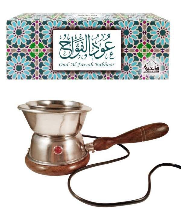 Dukhni Oud Al Fawah Bakhoor (Large) and Luxury Electric