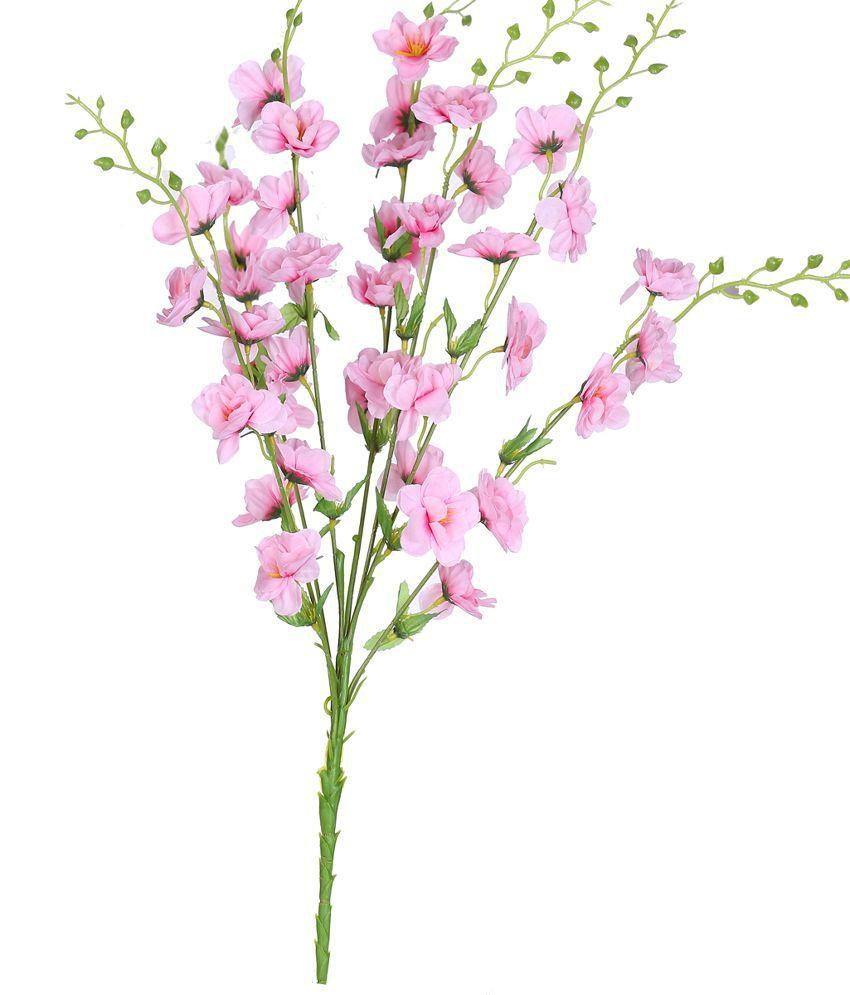 Elen Blossoms Pink Daisy Flower Bunch Set Of 2 Pcs Buy Elen