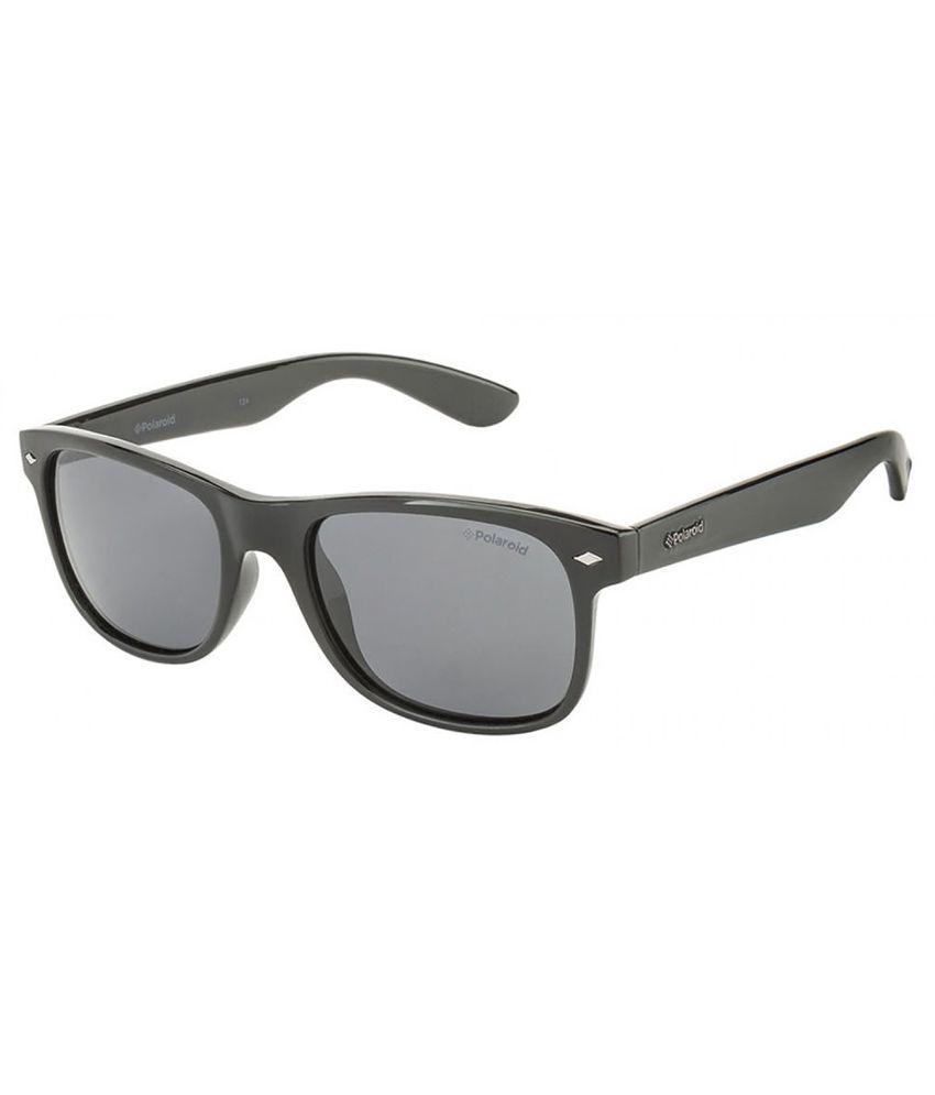 b34fe7d087 Polaroid Black Wayfarer Sunglasses - Buy Polaroid Black Wayfarer Sunglasses  Online at Low Price - Snapdeal