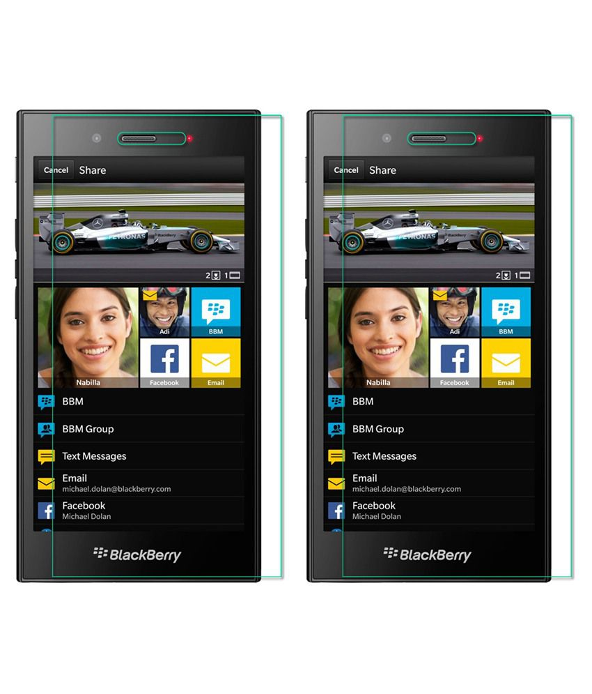 Blackberry Z3 Tempered Glass Screen Guard by PraIQ