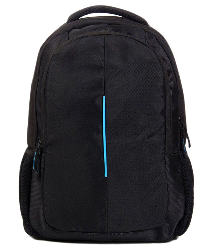 Best Deal Black Polyester Laptop Bag