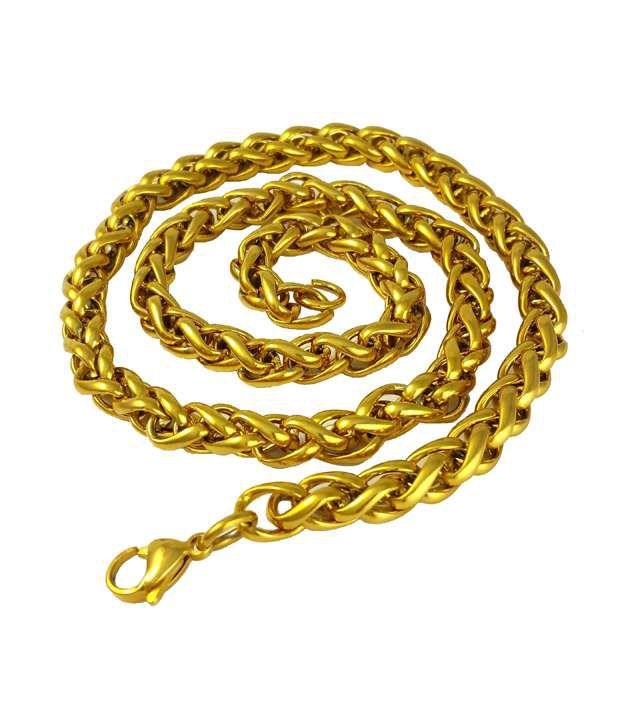 Ammvi Creations Golden Alloy Chain