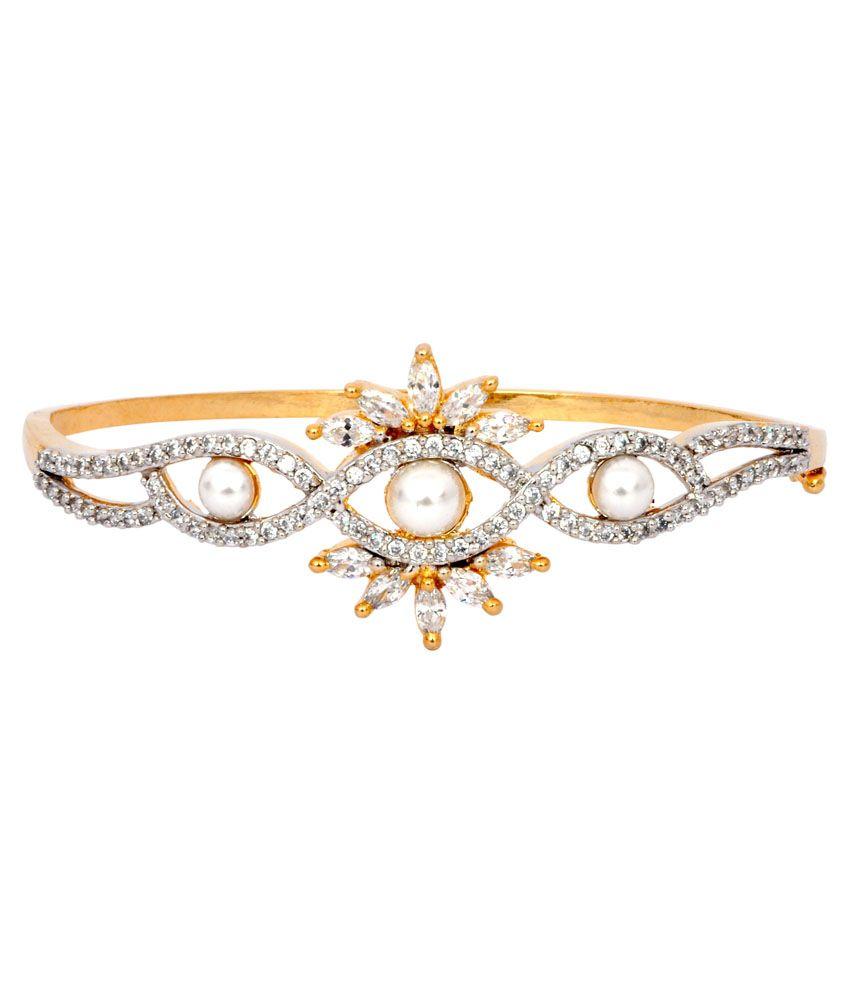 Fashion Spark Gold Designer Bracelet