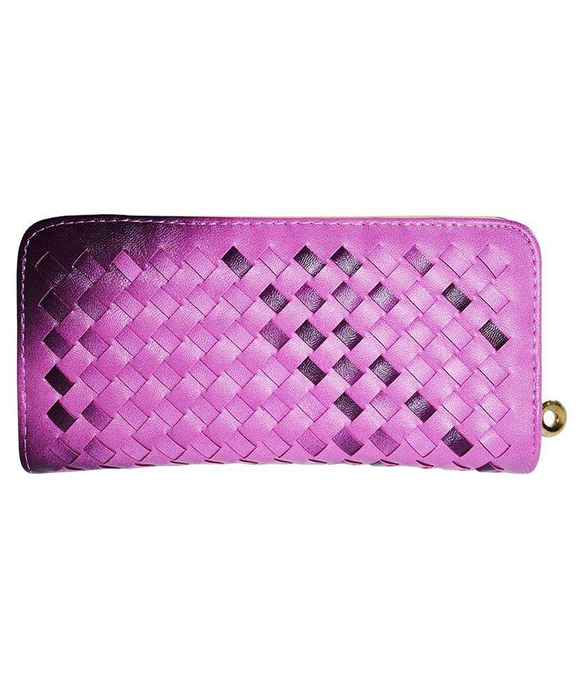 Hadwin Purple P.U Wallet
