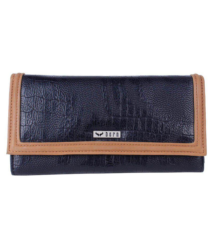Bern Brown Formal Wallet For Women