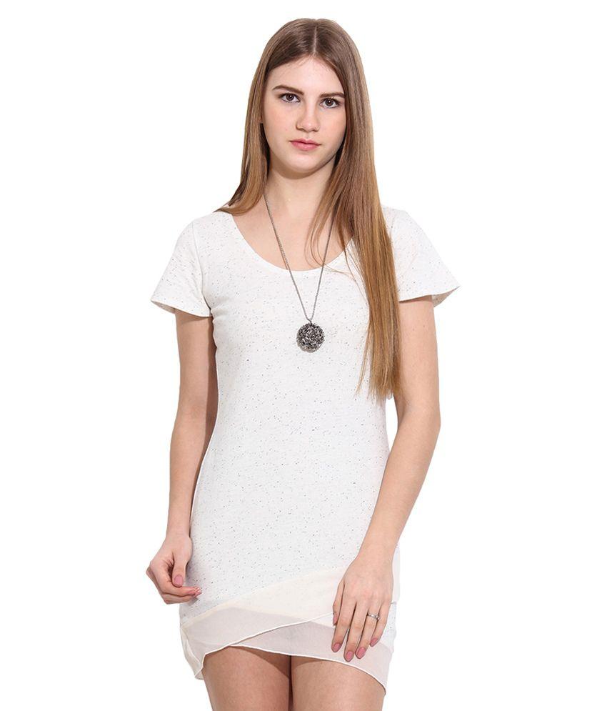 Why Knot White Cotton Tunics