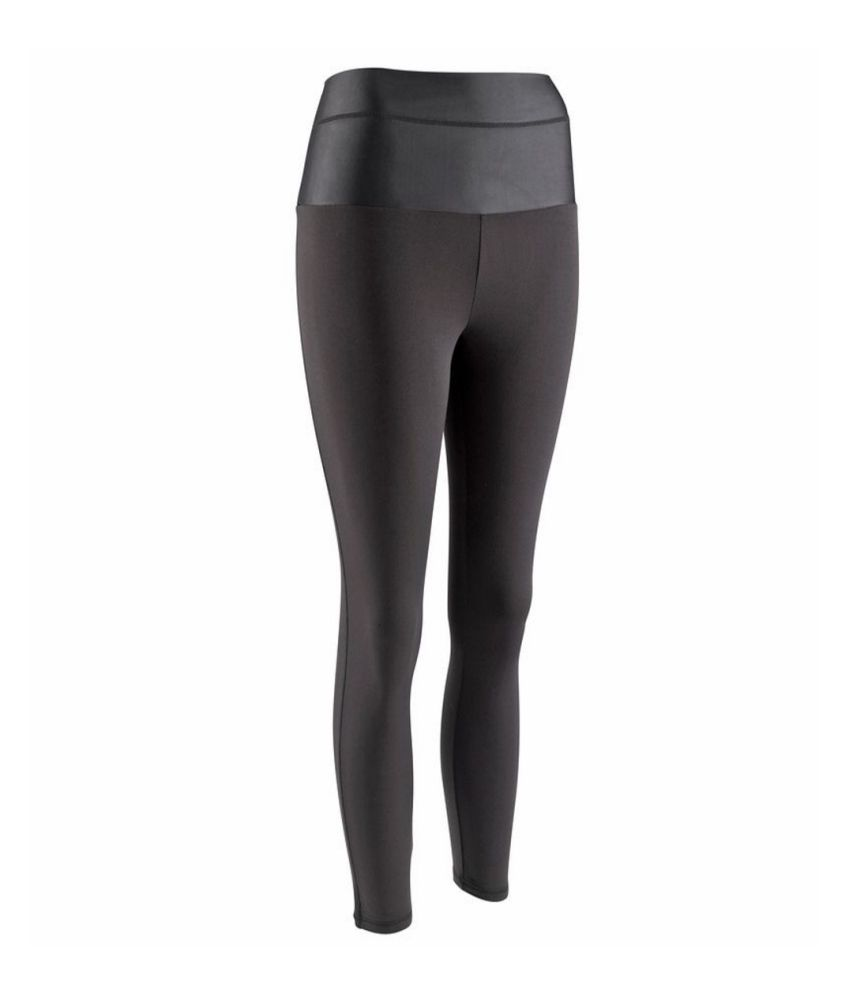 DOMYOS Bb1 7/8 Shape Women's Strength Training Leggings By Decathlon
