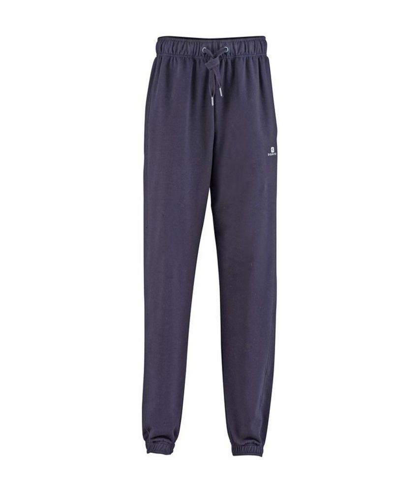 DOMYOS Comfort Plus Regular Men's Fitness Trousers By Decathlon
